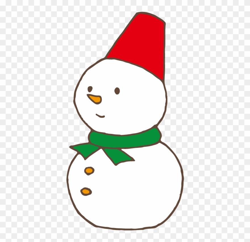 Schneemann 雪だるま イラスト フリー Clipart 203866 Pinclipart