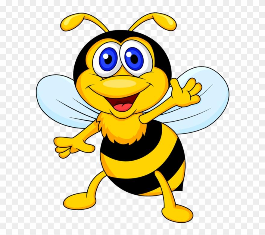 2 Bee Clipart, Bee Cards, Bee Pictures, Bee - Cartoon Bee - Png Download  (#204543) - PinClipart