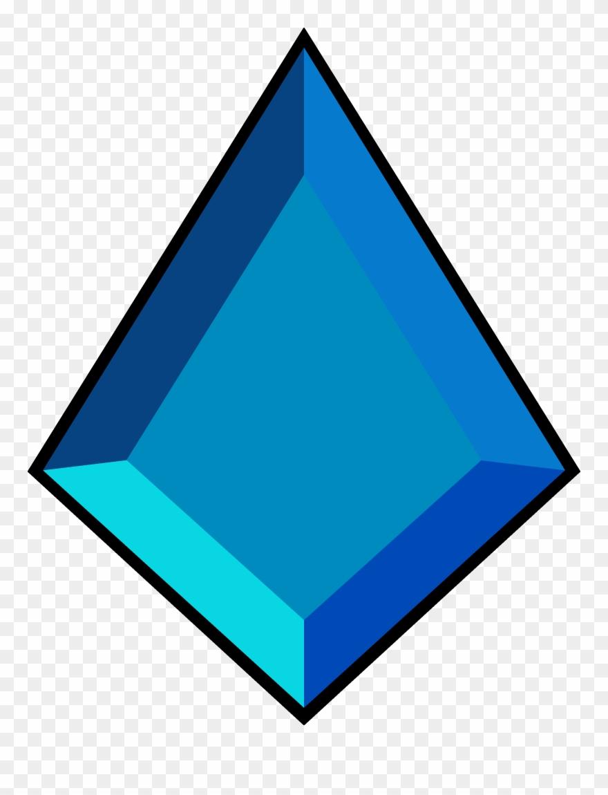 Gems Clipart Diamond Shape - Blue Diamond Steven Universe ...
