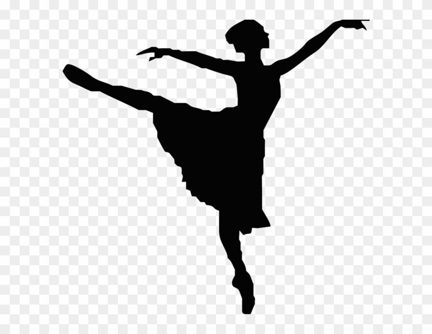 Black And White Dancer Clipart Png Download 206512 Pinclipart