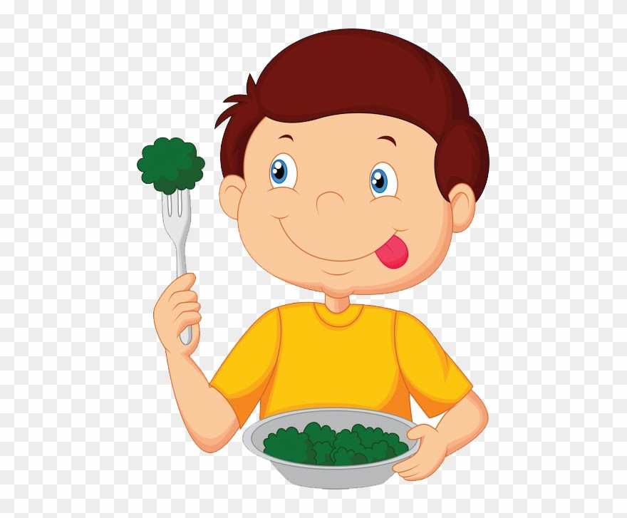 Download Eat Clipart Child Food - Cartoon Boy Eating - Png ...