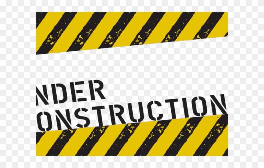 Police Line Clipart Under Construction - Under Construction Png Transparent Png
