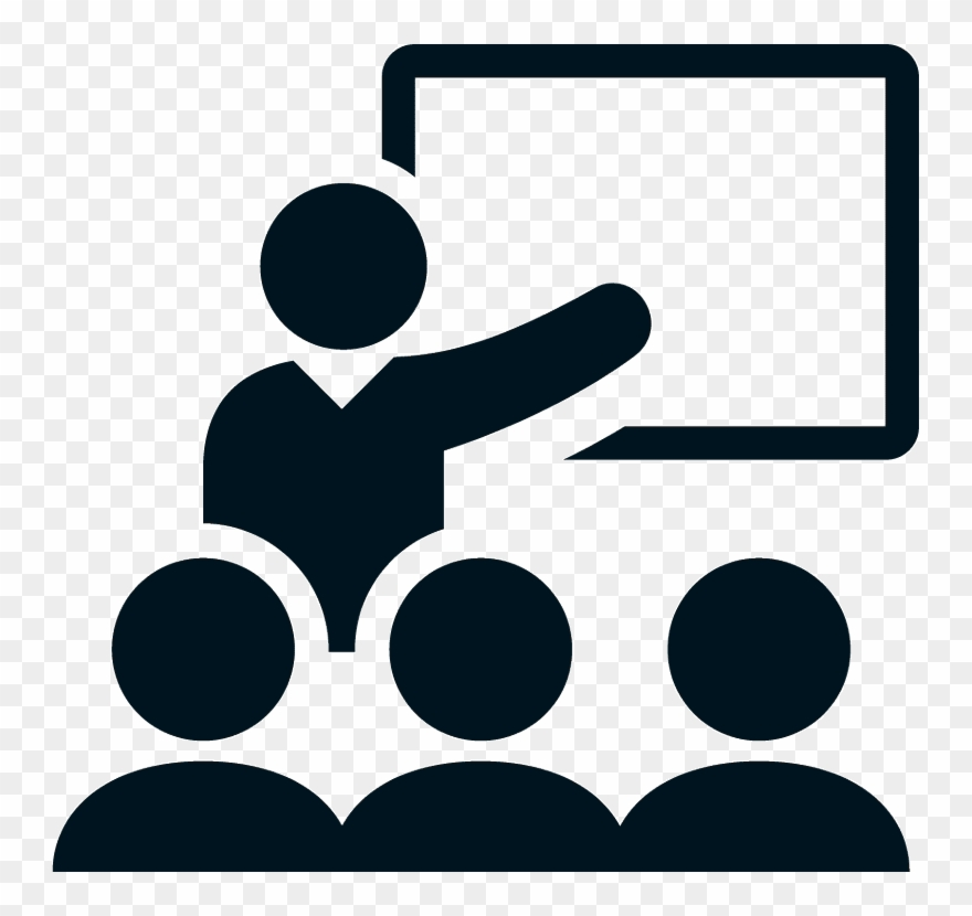 Classroom transparent. Symbol clipart training education