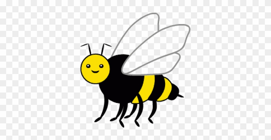 Animated transparent. Bee clipart animation gif