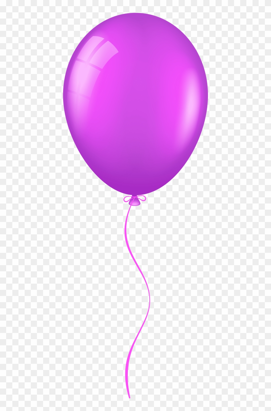 Balloon purple. Free png images transparent