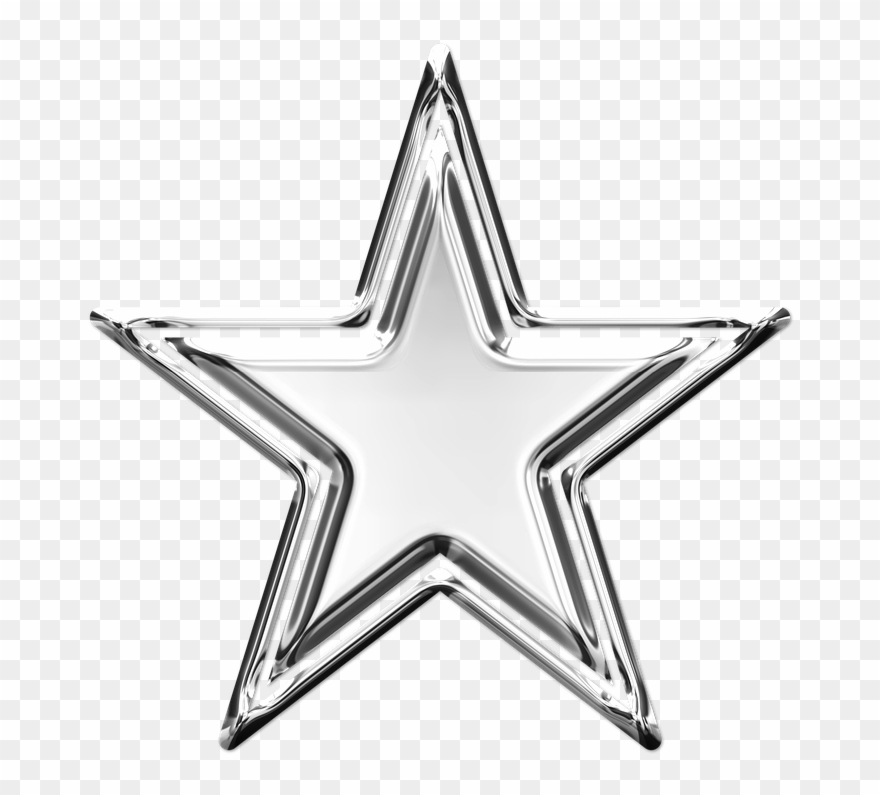 Mark Rank Silver Star Icon Britain S Got Talent Star Clipart 2023388 Pinclipart