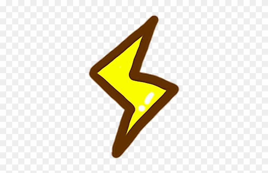 Lightning Cute Yellow Light Thunder Thunderstorm G7che
