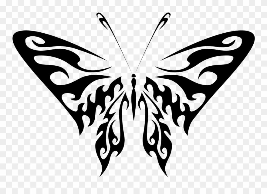 Butterfly Line Art