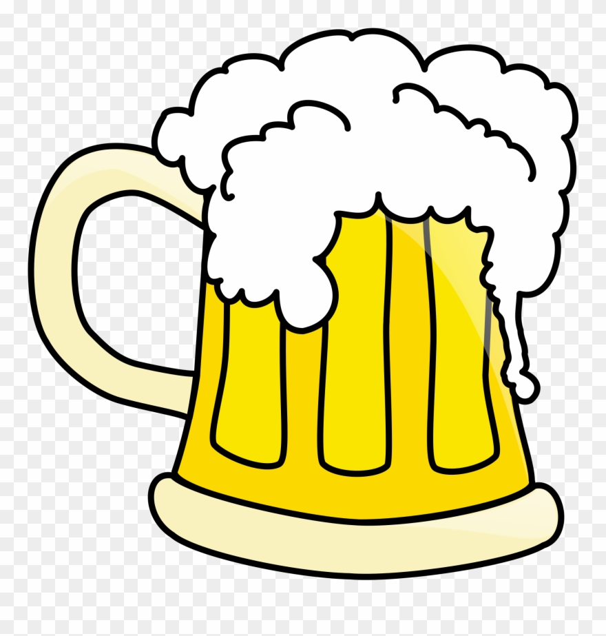 Beer Coloring Pages Clipart 2047207 Pinclipart