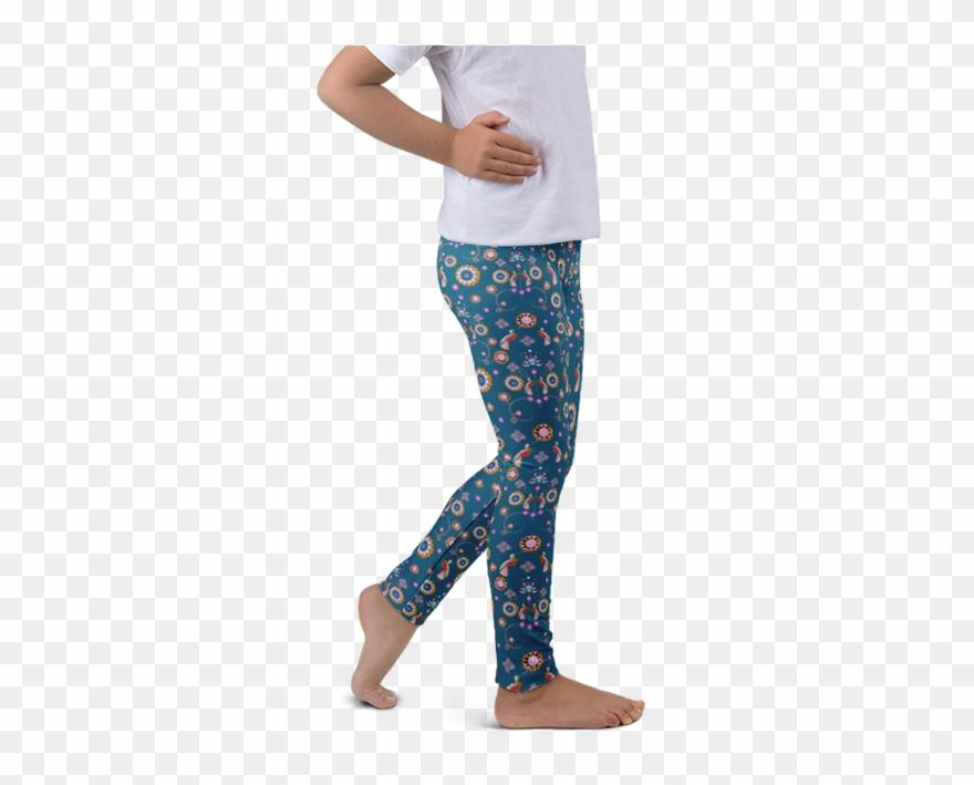 e4a4c9a31b0e4 Bird art deco blue kids leggings little girl legging clipart png 880x709 Leggings  clipart girls