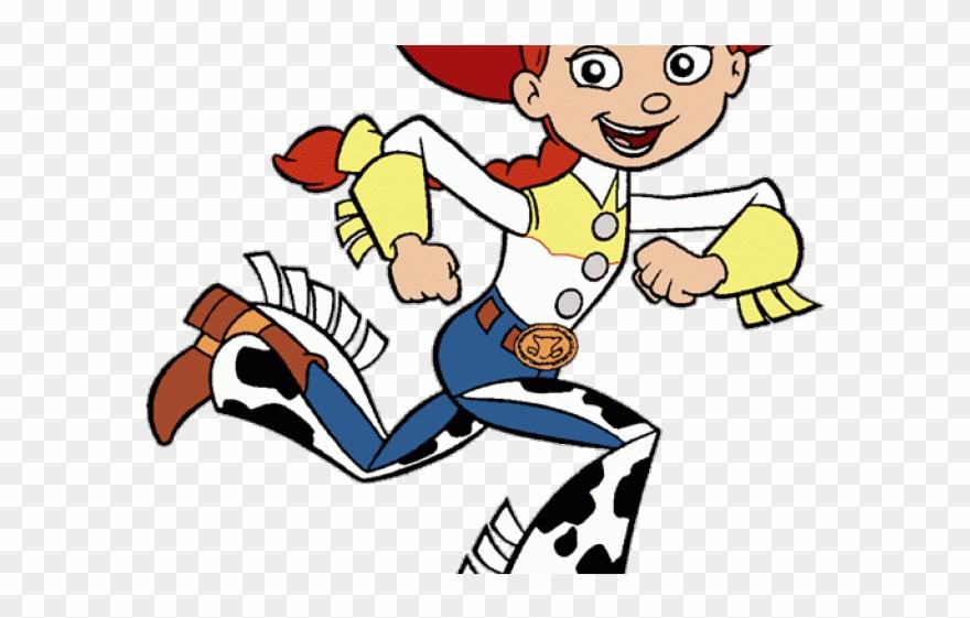 Vaquerita Jessie Toy Story Para Colorear