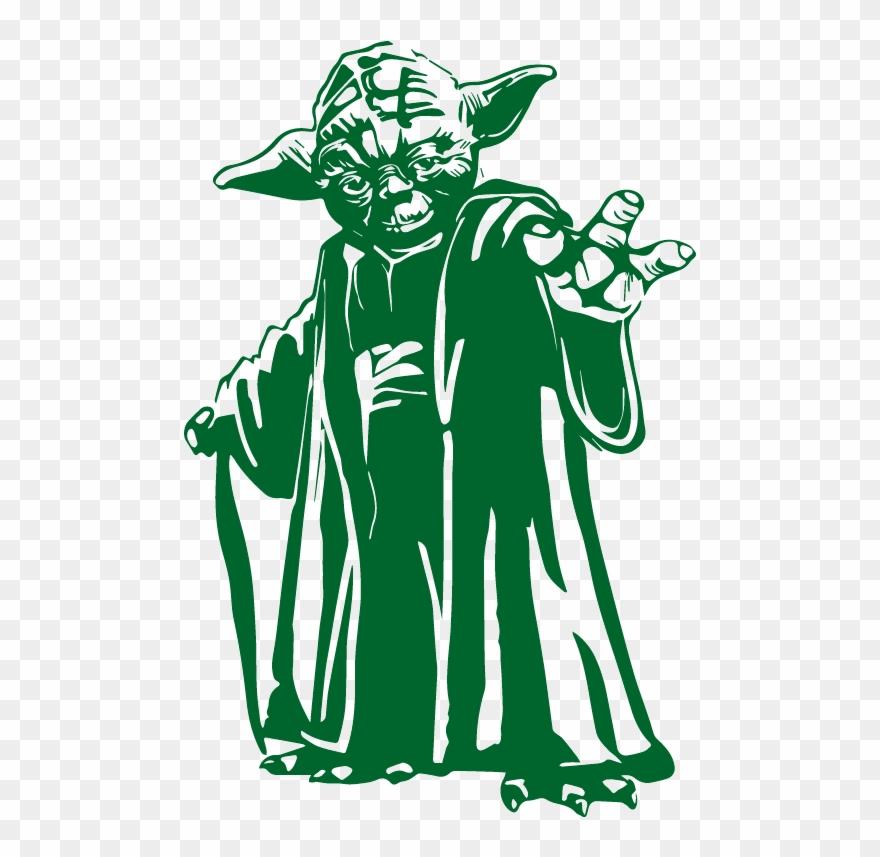 Star Wars Yoda Vector Clipart (#2055794) - PinClipart