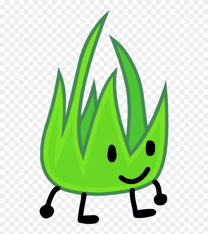 Grassy In Bfb - Grassy Battle For Bfdi Clipart (#2057401) - PinClipart