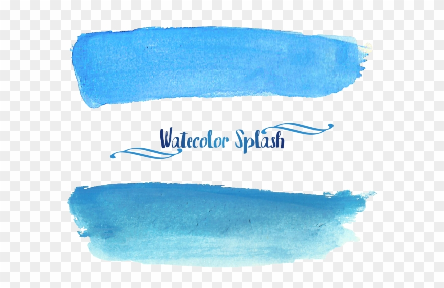 Watercolor Blue Png Clip Library Download Imagens Tumblr
