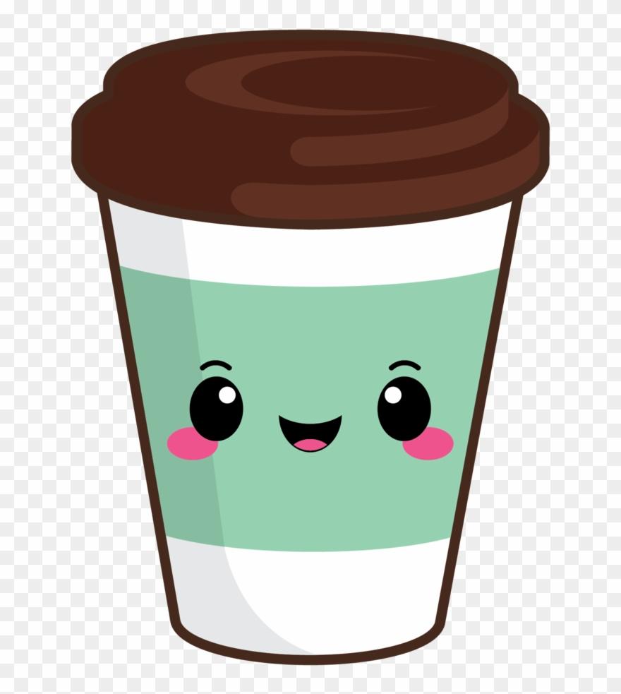 Cute Coffee To Go Green - Kaffee Emoji Liebhaber Runder ...