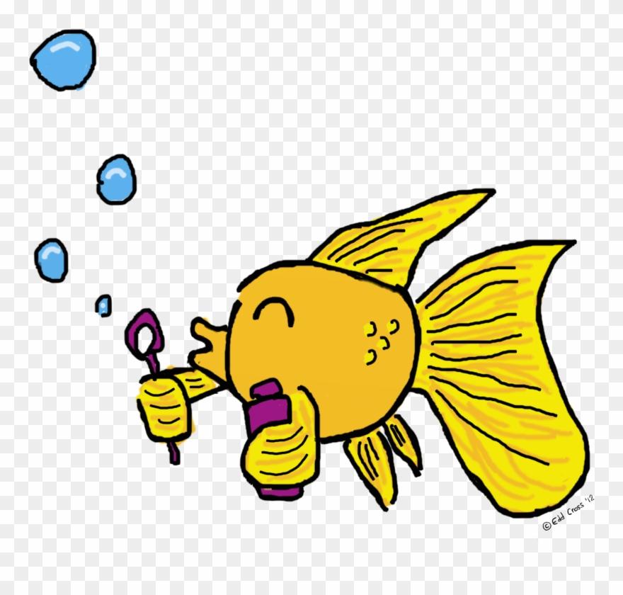 Bubbles fish. Blowing illustration clipart pinclipart