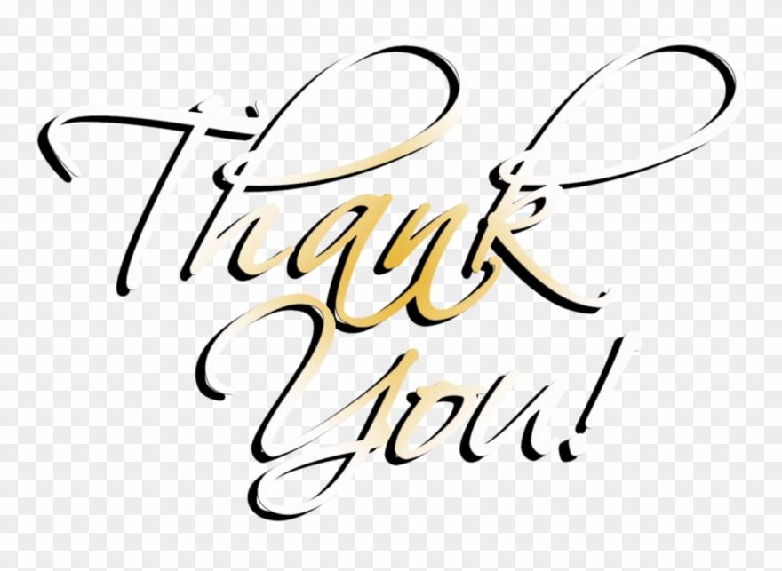 Thankyou Thank You Png Transparent Clipart 2070043 Pinclipart