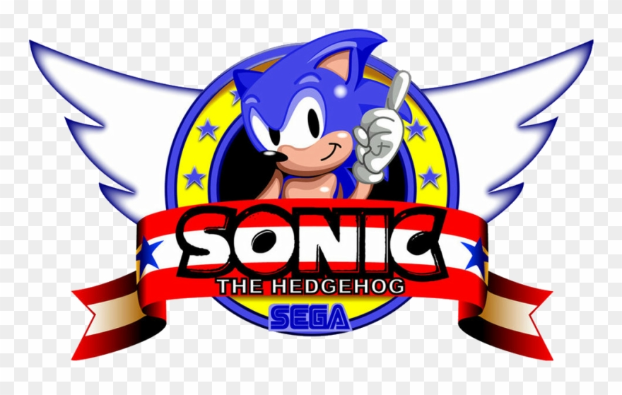 Sonic Logo Sonic The Hedgehog Game Logo Clipart 2077458 Pinclipart