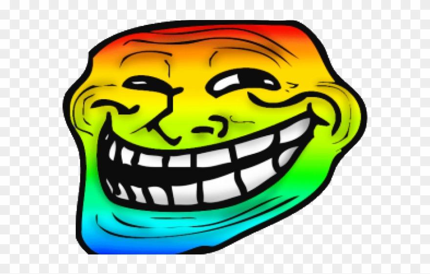 Troll Face Transparent Trollface Clipart 14 900 X 723 Troll Face Emoji Png Download 2077959 Pinclipart