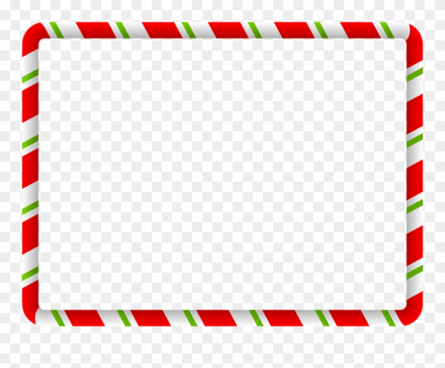 Red Christmas Borders Clipart