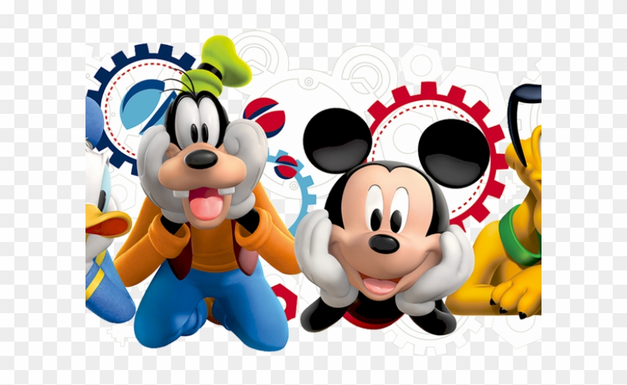 Mickey Mouse Clipart Gears Disney Mickey Mouse Clubhouse Capers