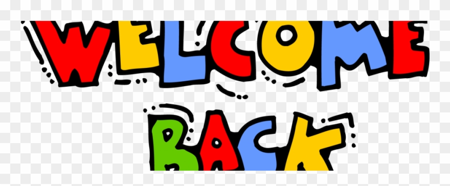Back to school welcome. After clipart