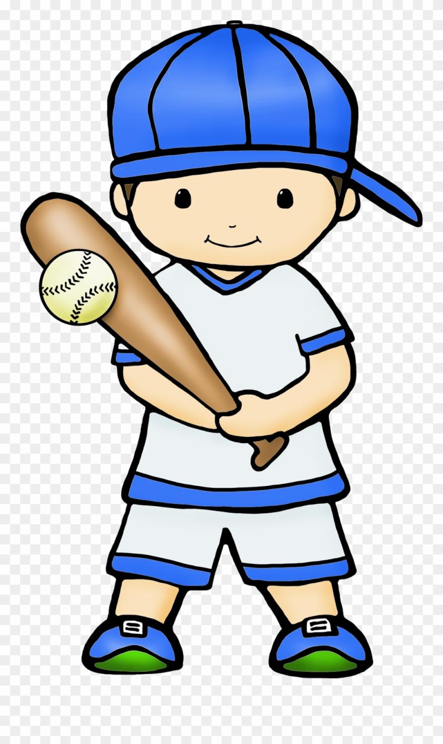 Baseball kid. Cute graphics by play