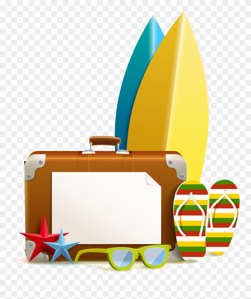 Resort Png Image - Clipart Summer Beach Vacation Png Transparent Png