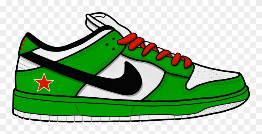 Musketon Tutorial Nike Sneaker Cartoon Drawing Clipart