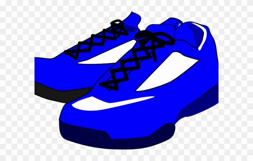 f78222709 Adidas Blue Free On Dumielauxepices Net - Blue Shoes Clipart - Png Download