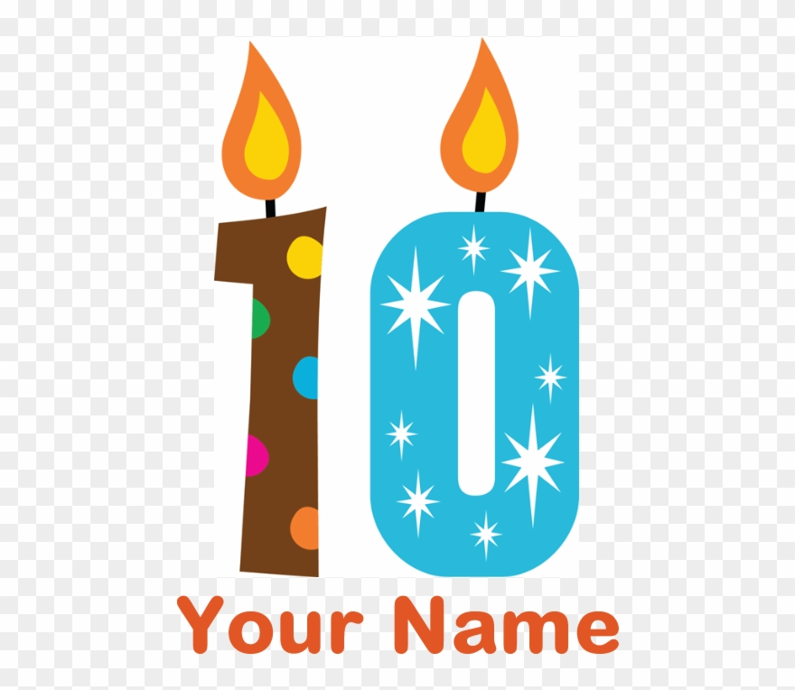 10th Birthday Clip Art 101 Male 18th