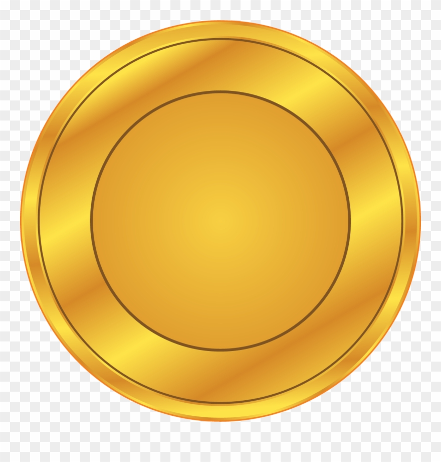 Download Gold Coin Animation Golden - Coin Clipart Png ... (880 x 920 Pixel)
