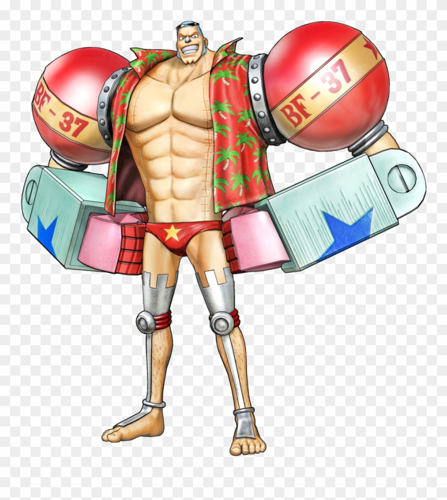 One Piece Clipart Franky Png Download 2104683 Pinclipart