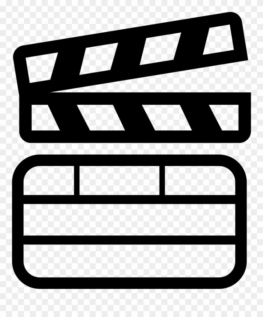 Cinema Slate For Cinema Scenes Numbering Comments Iconos De