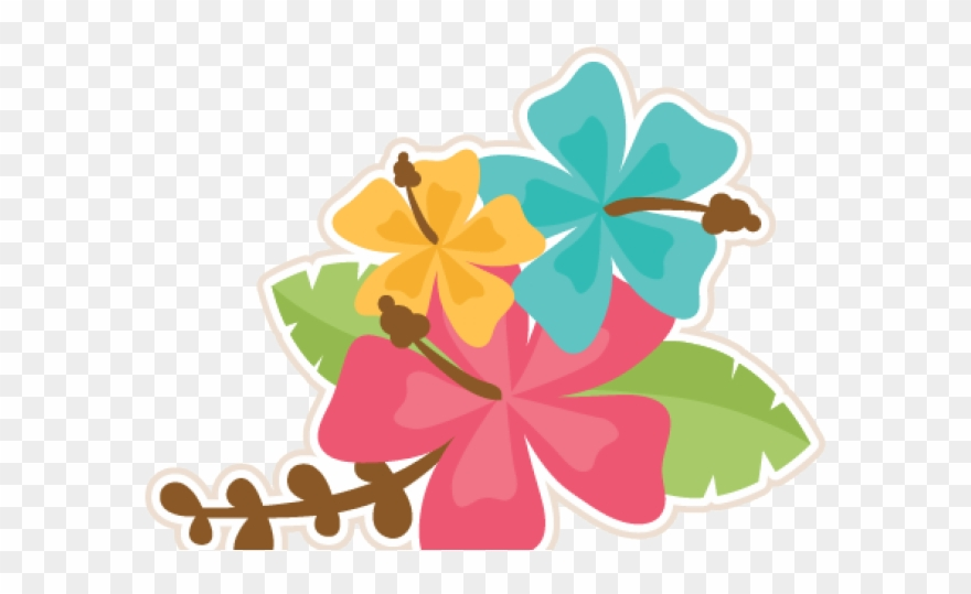 Moana hibiscus. Clipart svg png download