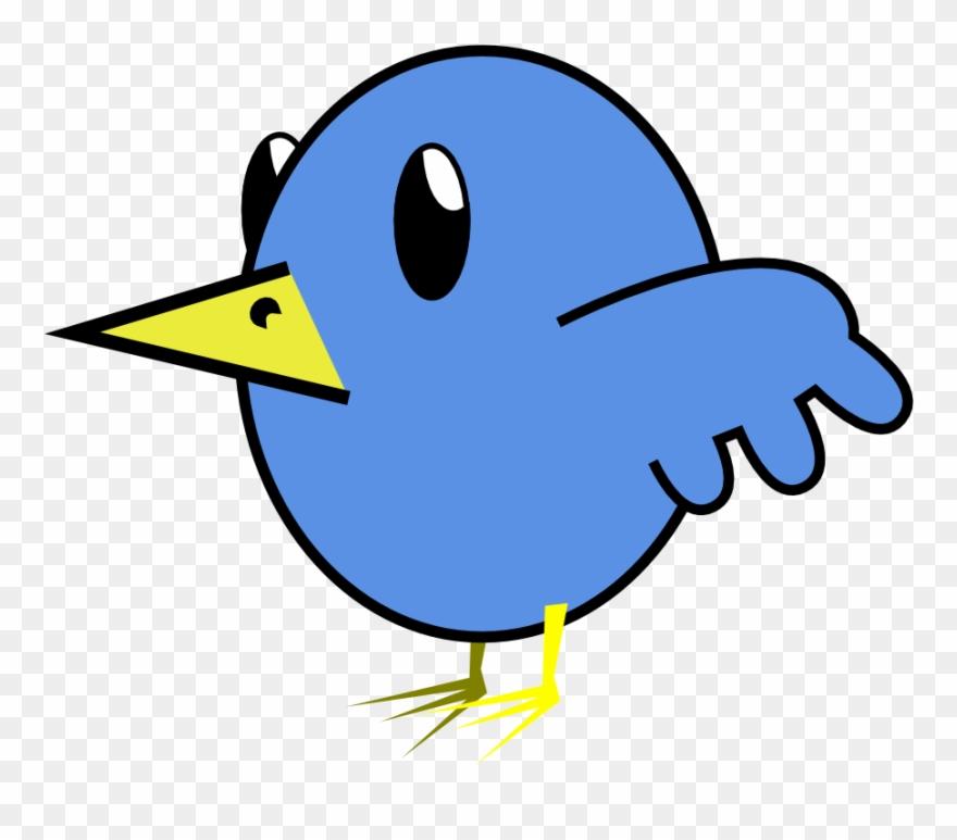 Twitter tweet. Bird clipartist kenning poem