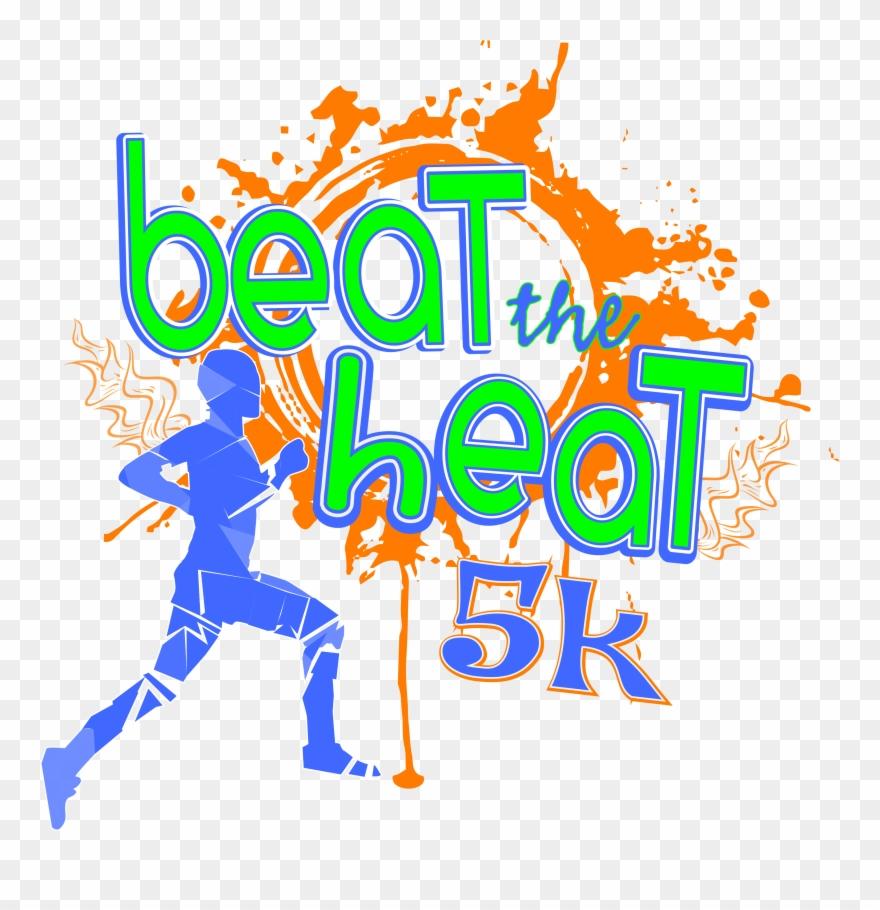 2017 Beat The Heat 5k Runwalk 5k Run Clipart 2127864 Pinclipart