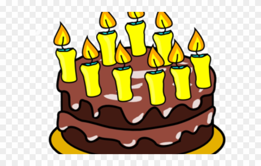 Birthday Candles Clipart Cake 9
