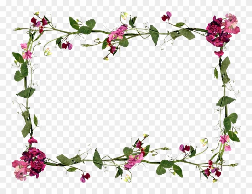 Flores Buscar Con Google Marcos De Flores Png Clipart 2132735