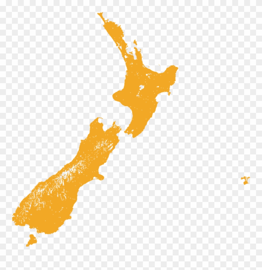Map Of New Zealand Queenstown.Little Spotted Kiwi Queenstown On New Zealand Map Clipart