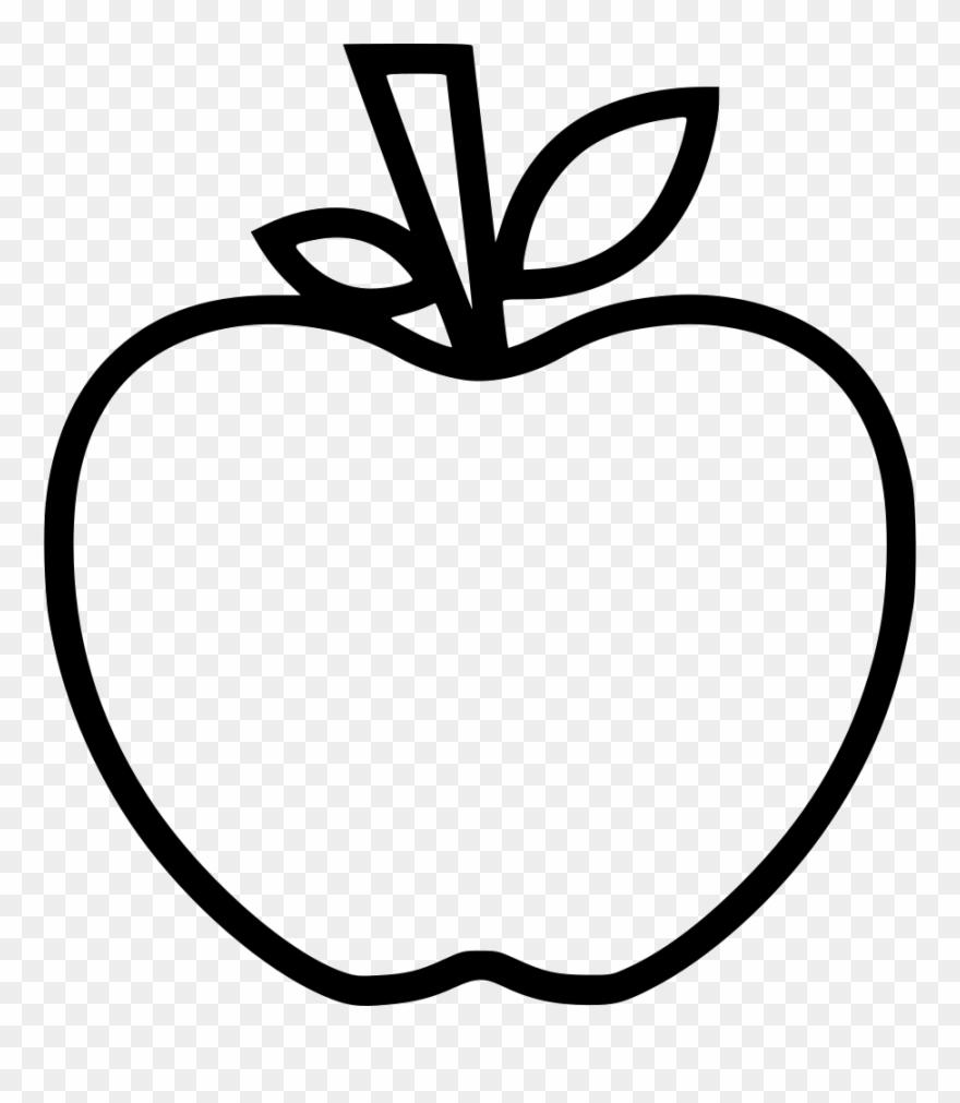 Apple teacher. Substitute comments icon clipart