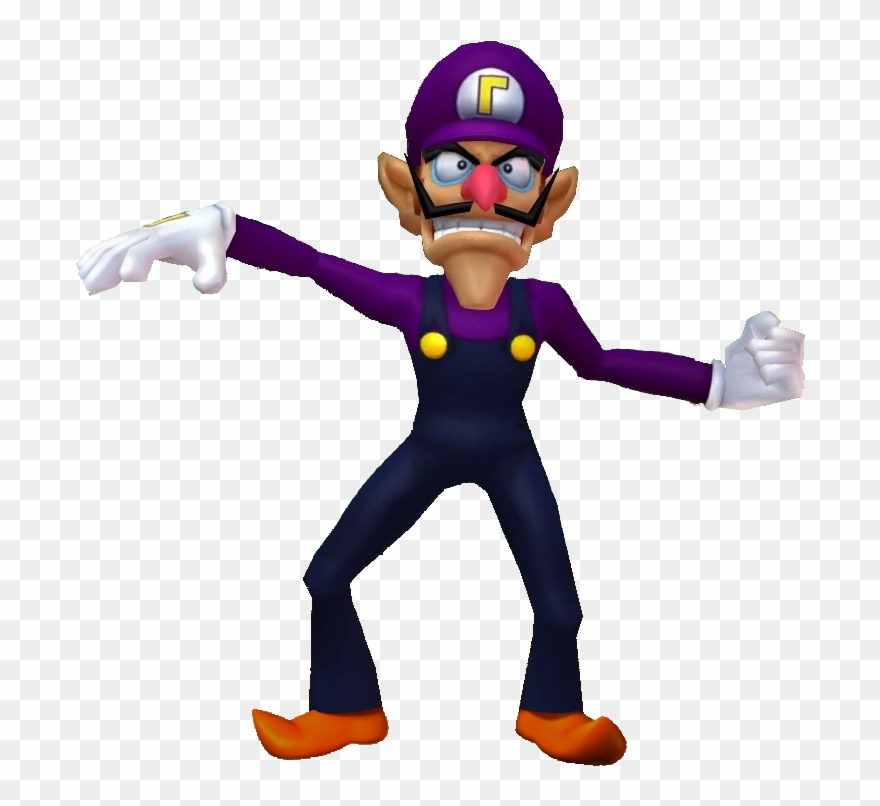 Waluigi high resolution. Me irl mario party