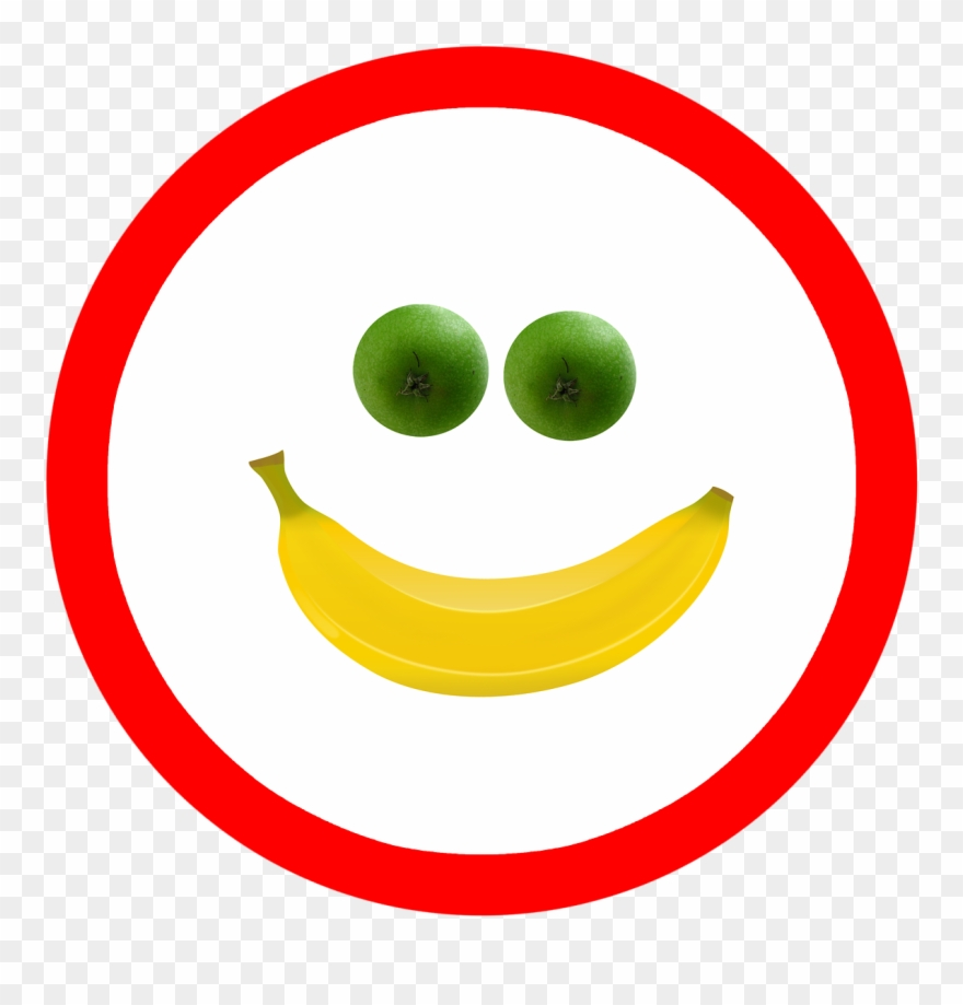 Banana smiley. Smile fruit apple png