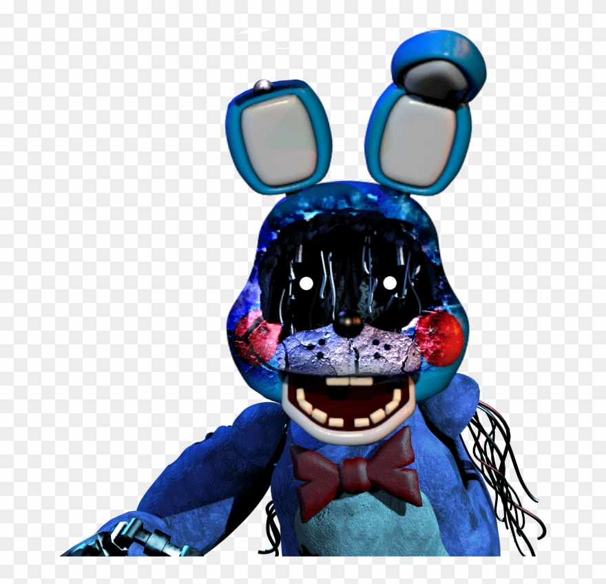 Fnaf Withered Toybonnie Gif Christian Freddy Five Nights Funtime Bonnie Jumpscare Gif Clipart 2160644 Pinclipart