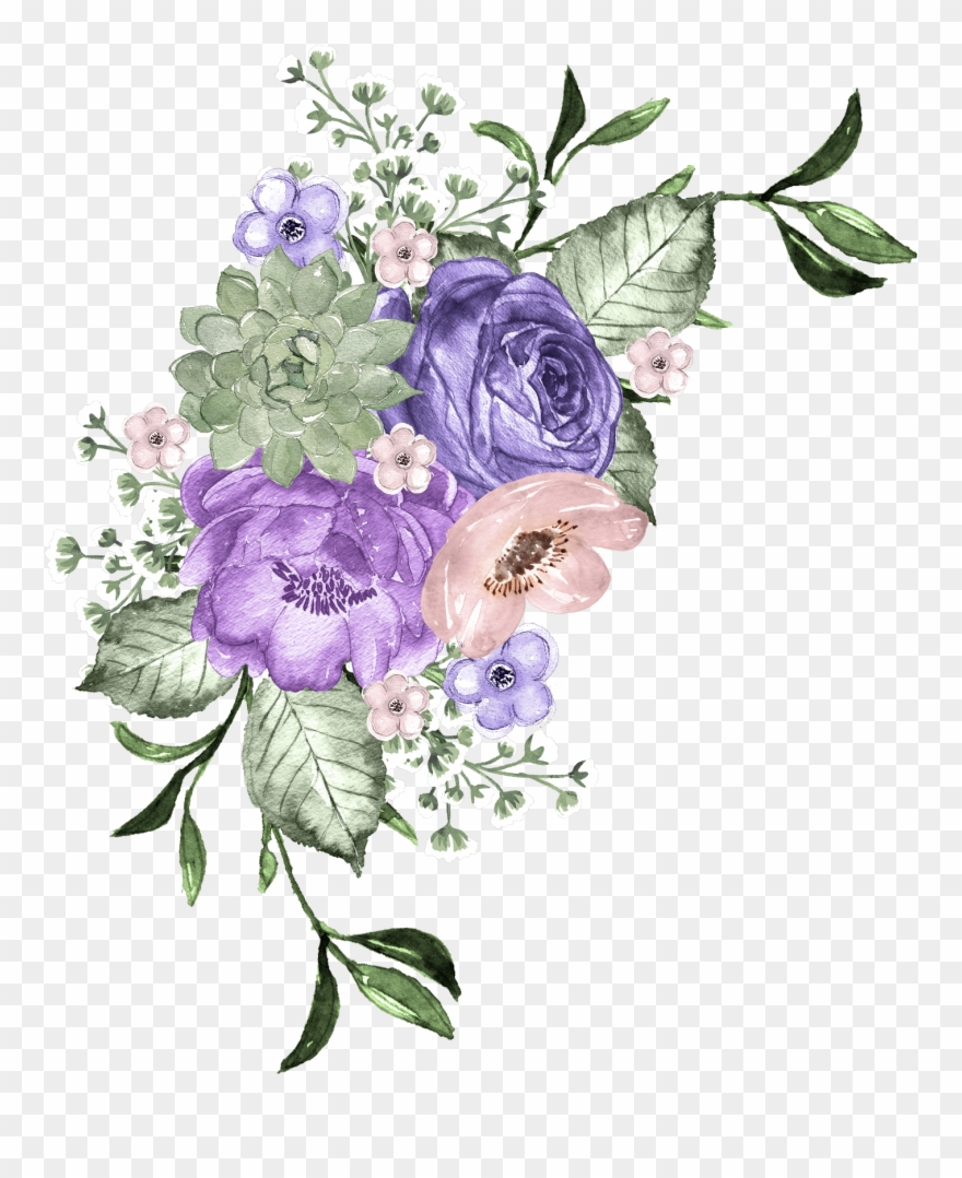 Borders And Frames, Clip Art, All Flowers, Carpet, - Png