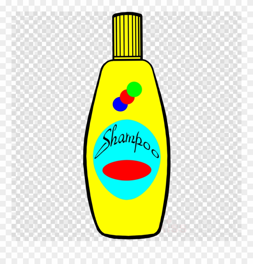 Shampoo Coloring Pages Clipart Shampoo Cosmetics Clip - Cute Cartoon Dress Girl - Png Download