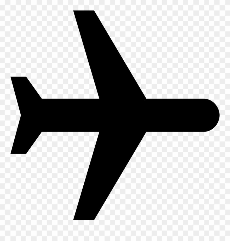 Flight Paramedic Clipart Black And White Black Plane Png