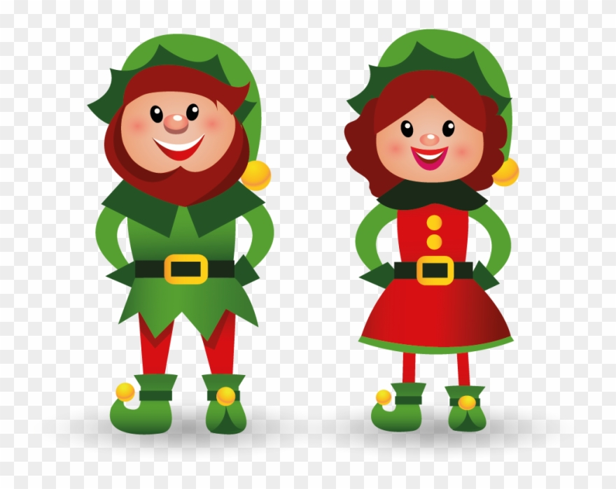 Lutin Noel Lutin Pere Noel   Christmas Tree And Presents Clipart   Png