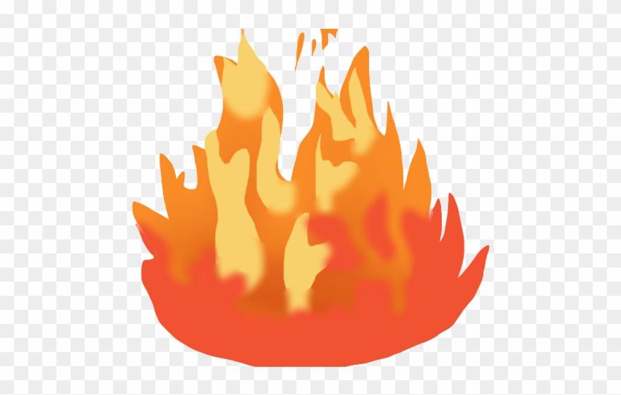 Bonfire Clipart Heat Fire Emoji Gif Png Transparent Png