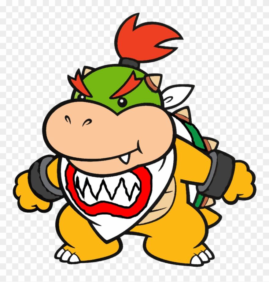 Bowser Koopa Jr Art Mario Bros Bowser Jr Clipart 2188318